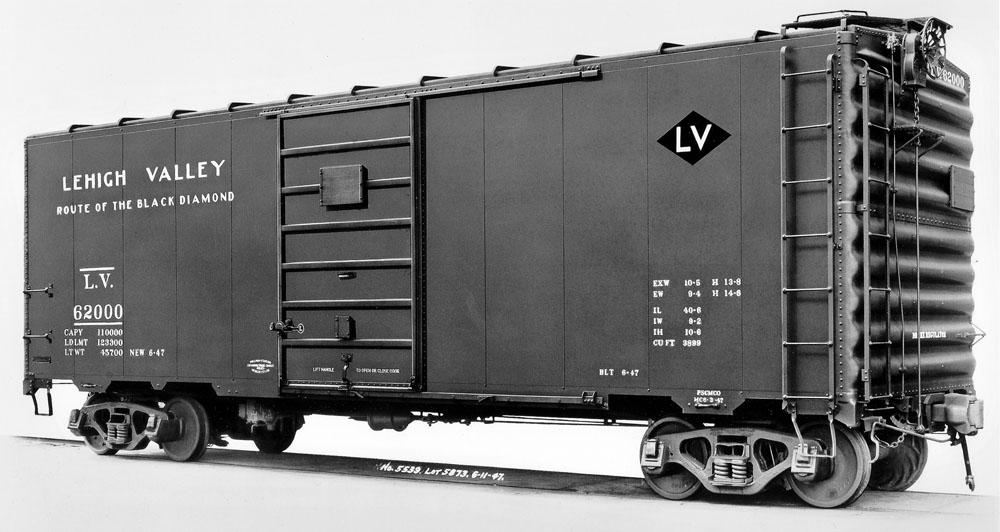 D120 – Lehigh Valley 40′ PS-1 Box Cars