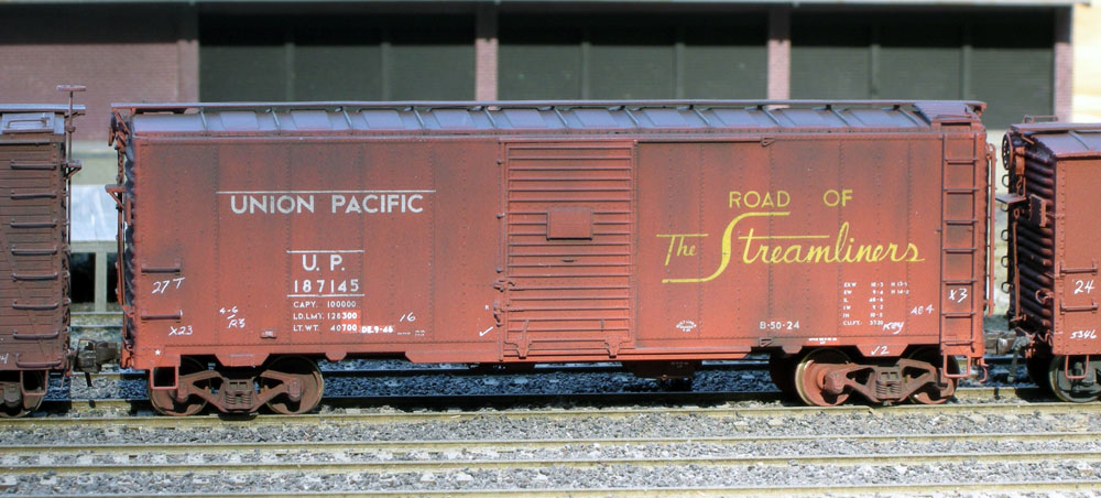 D125 – Union Pacific B-50-24 & -27 Box Cars