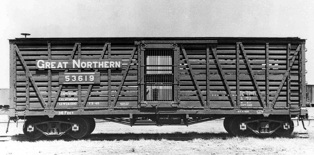 Stock Car Products: K128 – Great Northern 36′ Stock Car
