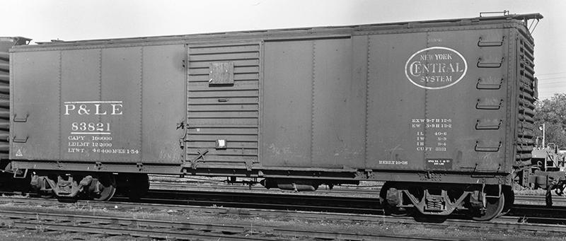 P104 – Youngstown doors for P&LE USRA rebuilt Box Car ...